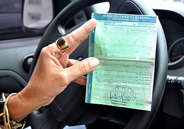Licenciamento de veículo