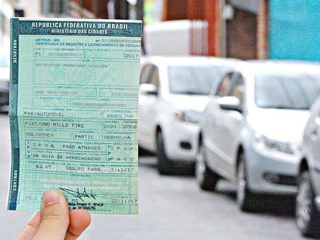 Licenciamento 2022 MG